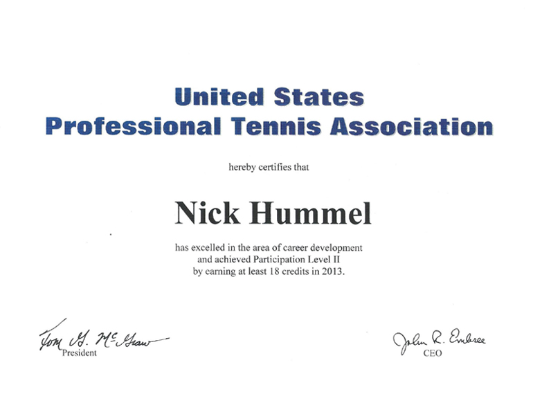 Match Tough Tennis by Nick Hummel